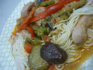 タイ料理ขนมจีนをフィリピンで作る