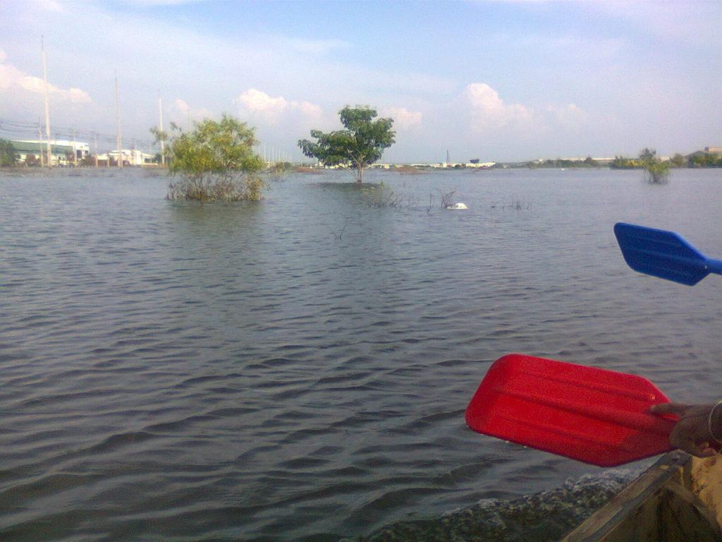 【秘蔵写真】タイで発生した大洪水の被害が凄まじかった・・・