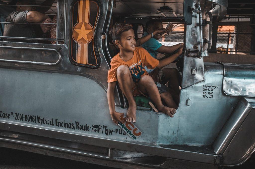 フィリピン留学 ジプニー 交通手段