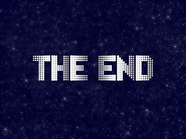 THE END おしまい