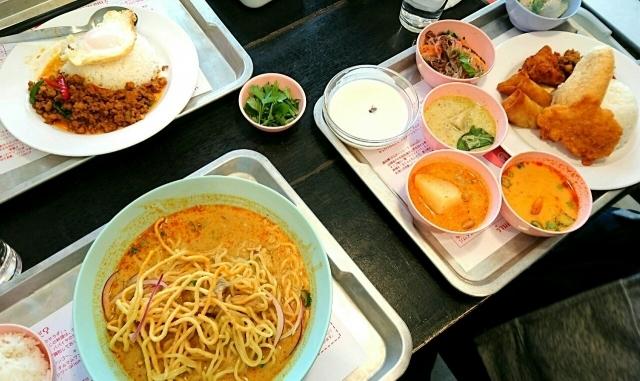 タイ就職 タイ料理 生活