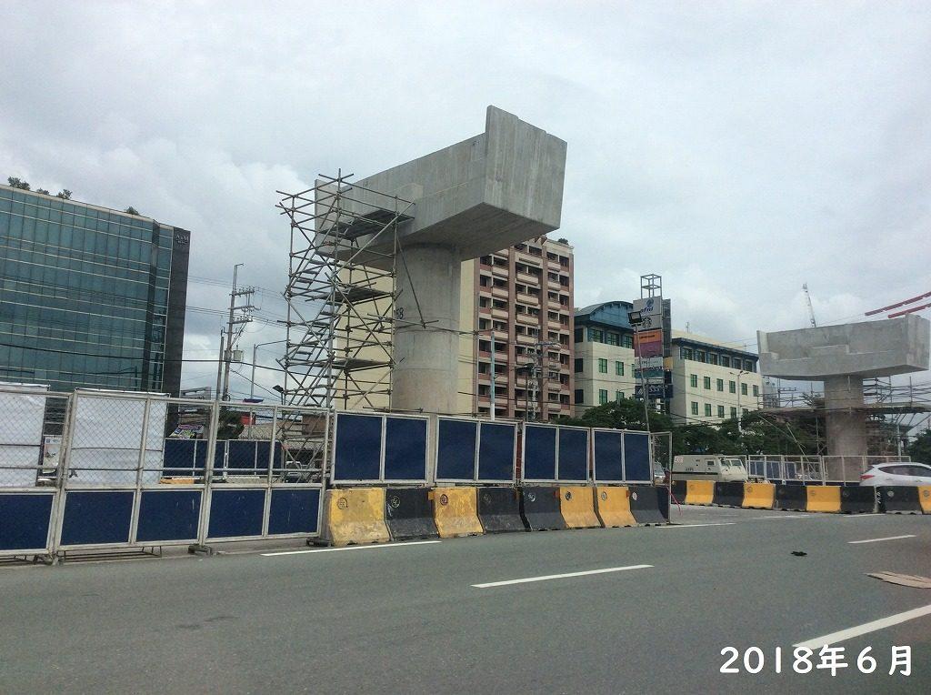 マニラ MRT 工事