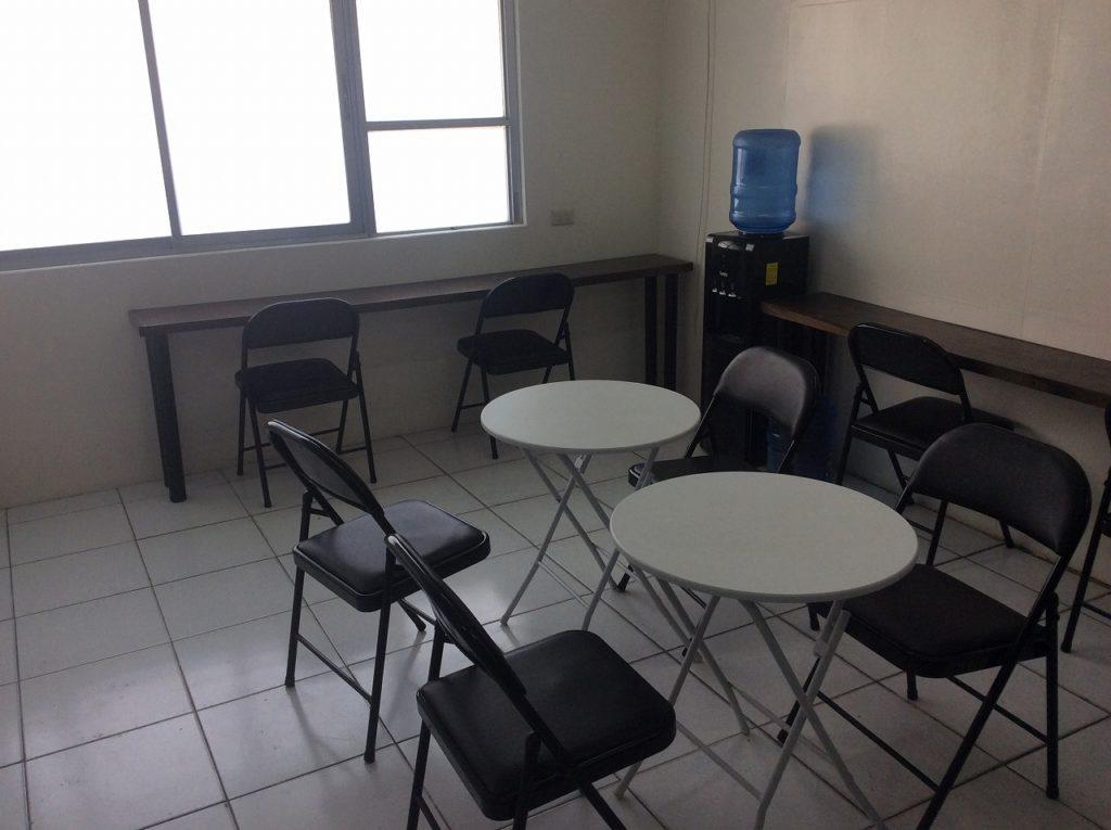 フィリピン留学 休憩 スペース