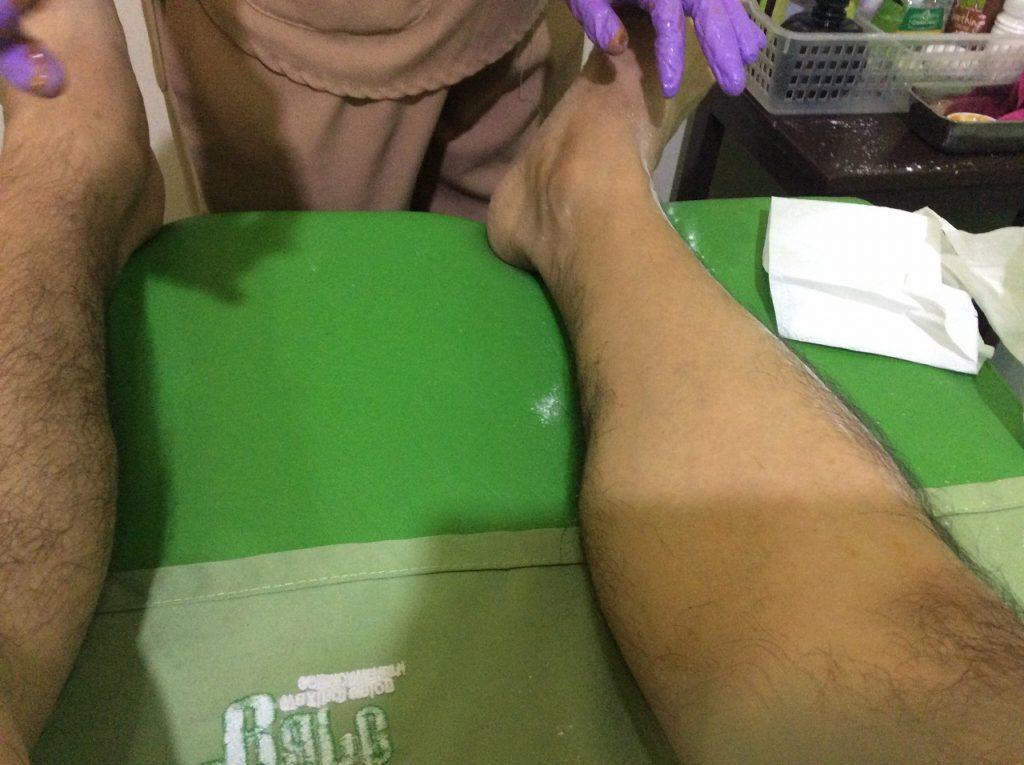 フィリピン留学 ブラジリアンワックス脱毛